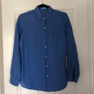 J. McLaughlin linen shirt